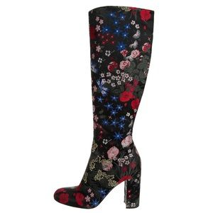 *Sold* Valentino Authentic Floral KneeHigh Boots